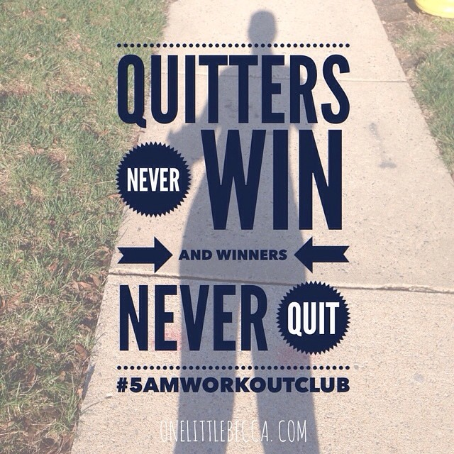 Truth. #5amworkoutclub #run #runchat #marathontraining
