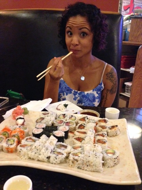 Sushi Date with Kat