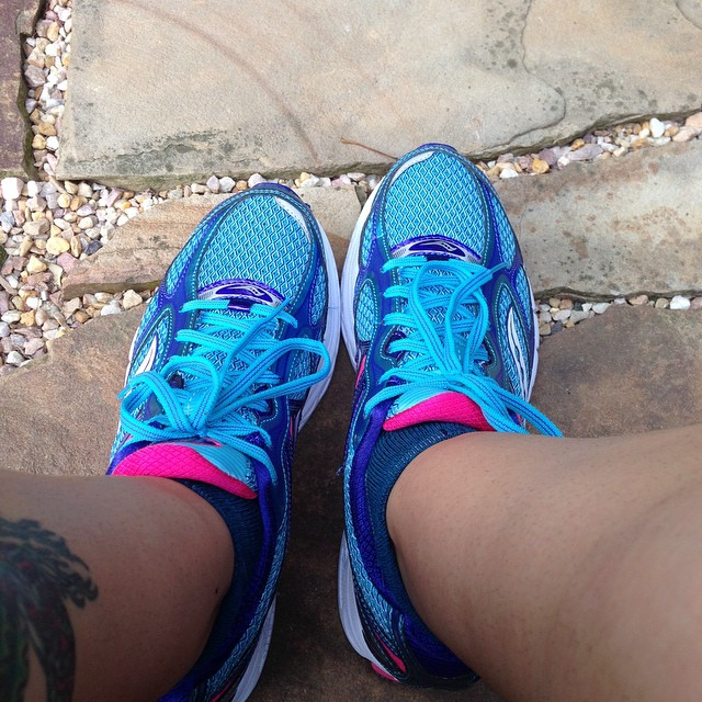 Soon we will be out running again! w00t! #marathontraining #findyourstrong #runnerproblems